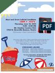 Citizens for John Vespa Campaign Kickoff Invite