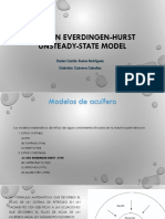 The Van Everdingen Hurst Unsteady State Model