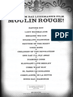 Moulin Rouge Score Book