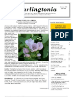 Darlingtonia Newsletter, Summer 2009 ~ North Coast Chapter, California Native Plant Society
