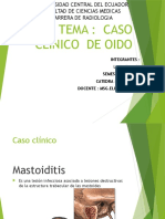 Caso Mastoiditis