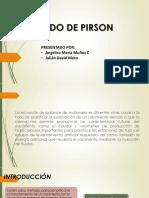 Método de Pirson