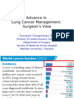 Advance in Lung Cancer Surgery