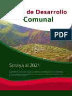 Plan de Desarrollo Comunal Soraya