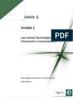 Lectura1_Las Nuevas Tecnologías de Información y Comunicación