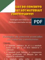 Ap1 - Patologias Do Concreto Devido Aos Seus Materiais