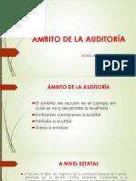 Ámbito de la auditoria