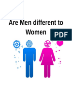Are Men Different to Women ( Sem 1