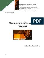 Proiect Management Orange