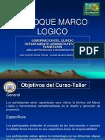 Presentacion Enfoque Marco Logico