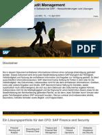 SAP Runs SAP Audit Management