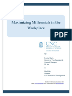Maximizing Millennials in the Workplace