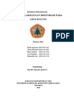 Referat Pedo Kelompok 3 (Penatalaksanaan Restorasi pada Gigi Sulung) drg. Ika.doc