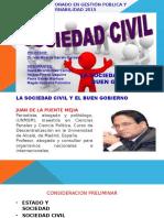 Sociedad Civil y El Buen Gobierno 27-06-15