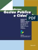 Cadernos Gestão Pública e Cidadania 4
