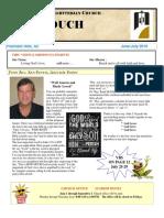June July Newsletter 2016