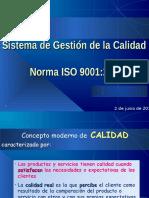 Sistema de G. de La Calidad ISO 9001 2008