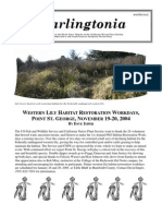 Darlingtonia Newsletter, Winter 2004 ~ North Coast Chapter, California Native Plant Society