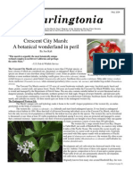 Darlingtonia Newsletter, Fall 2004 ~ North Coast Chapter, California Native Plant Society