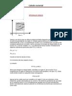 CALCULO VECTORIAL integrales dobles