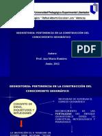 Ponencia Geohistoria