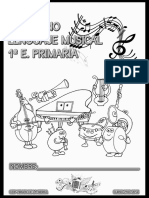 Cuadernillo Lenguaje Musical - 1º A