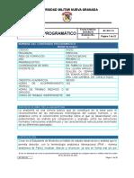 1a. Programa Contenido Programatico Morfología i -2016- 1