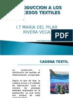 Introduccion a los procesos textiles