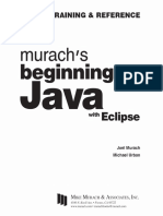 Joel Murach, Michael Urban-Murach's Beginning Java With Eclipse-Mike Murach & Associates (2015)