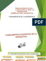 Fundamentos Filosofica de La Matematica