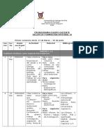 Cronograma Equipo Docente TFI III 2016