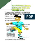 CAMPEONATO DE FUTSALA.doc