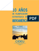 Cideu 10 Años de Planificación Estratégica en Iberoamérica.