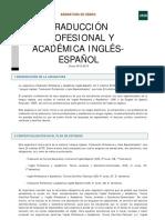 4-2-Traducción Profesional y Académica Inglés-Español