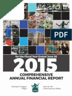 City of Detroit 2015 CAFR FINAL
