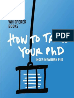[Inger Mewburn] How to Tame Your PhD