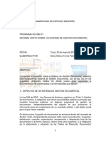 Informe Corto Gestion Documental