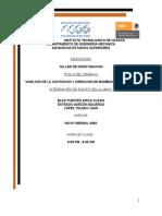 ANÁLISIS DE LA CAVITACION Y AIREACION EN BOMBAS HIDRAULICAS