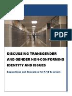 discussing trans adl