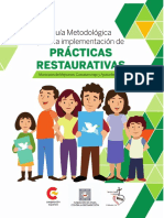 Guía Metodológica Para La Implementación de Prácticas Restaurativas