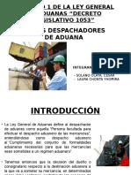 Exponer Adex Despachadores de Aduana