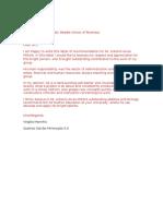 carta de recomendação [ingles]