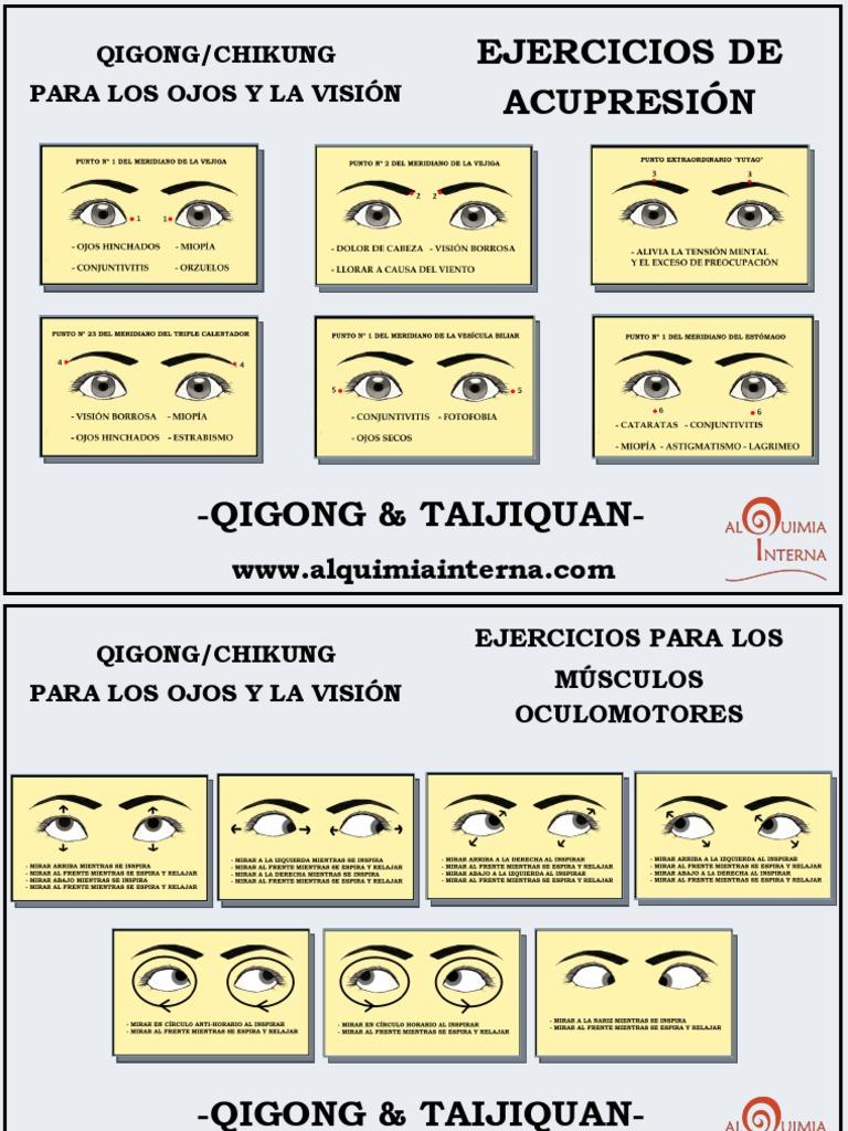 Ejercicios Chikung Para Ojos