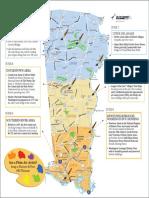 Map of Bucks County Plein Air Festival