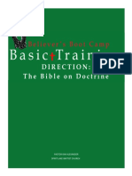 # 3 Believer's Boot Camp - The Bible on Doctrine