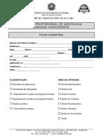 Formulario de Credenciamento Nucleo Pratica