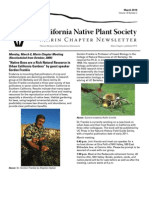 March 2010 Newsletter ~ Marin Chapter, California Native Plant Society