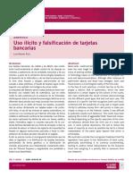 Articulo Tarjetas de Credito Clonadas -Falsas