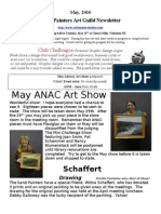 May, 2010 Sand Painters Art Guild Newsletter