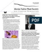 May-August 2009 Newsletter ~ Marin Chapter, California Native Plant Society